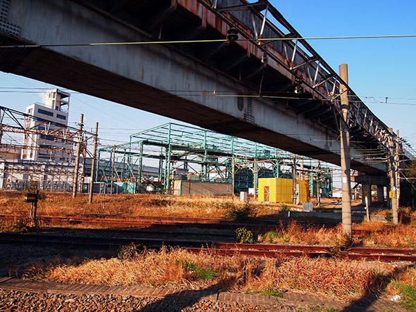 浜川崎駅(鶴見線・南武支線の乗換駅)・田島踏切・JFE THINK地区
